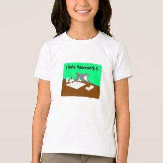 I Hate Homework !! T-Shirt