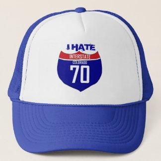 I Hate I70 Colorado highway hat