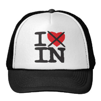 I Hate IN - Indiana Trucker Hat