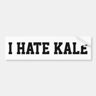I Hate Kale Bumper Sticker