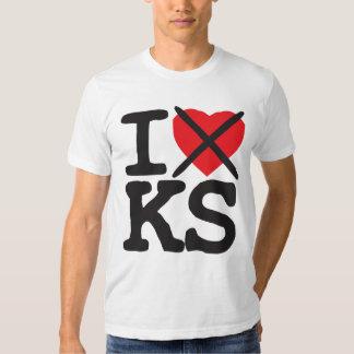 I Hate KS - Kansas Shirt