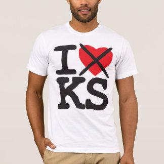 I Hate KS - Kansas T-Shirt