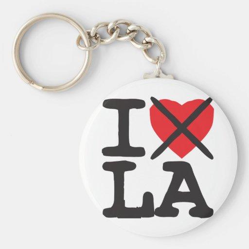 I Hate LA - Louisiana Keychain