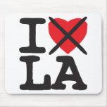 I Hate LA - Louisiana Mouse Pad