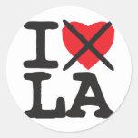 I Hate LA - Louisiana Stickers