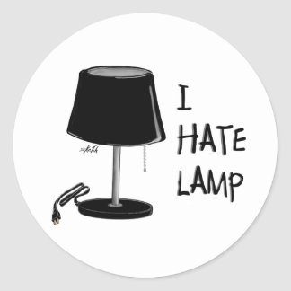 I Hate Lamp! - Stickers