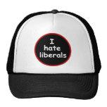 I Hate Liberals Trucker Hat