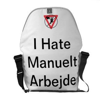 I Hate Manuelt Arbejde Taske Courier Bag
