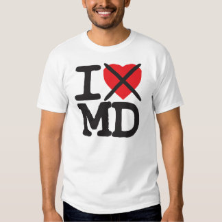 I Hate MD - Maryland Tee Shirt