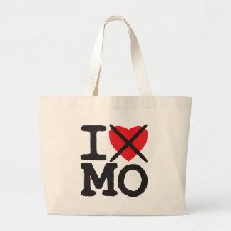 I Hate MO - Missouri Large Tote Bag