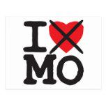 I Hate MO - Missouri Postcard