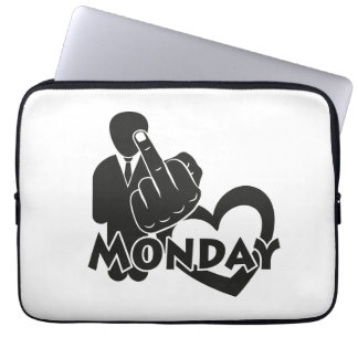 I hate Monday! Computer Sleeves