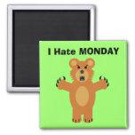 I Hate Monday Fridge Magnet