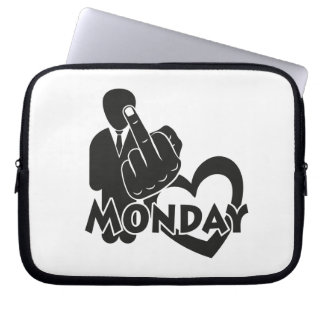 I hate Monday! Laptop Computer Sleeve