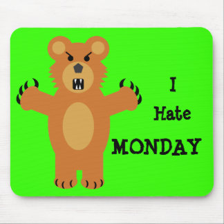 I Hate Monday Mouse Pad