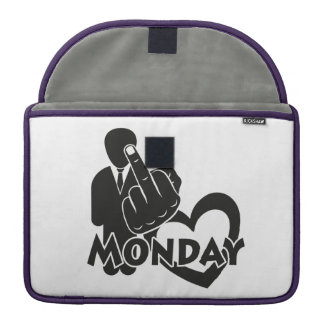 I hate Monday! Sleeves For MacBook Pro