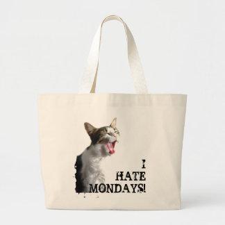 I Hate Mondays Canvas Bag