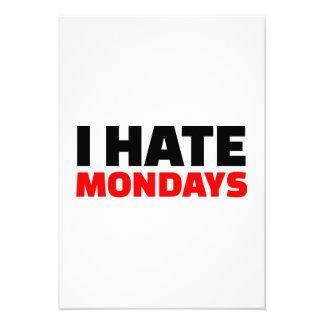 I hate Mondays Invitation