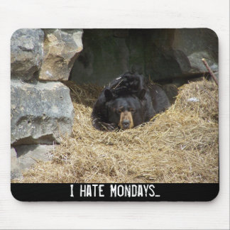 I hate Mondays... Mouse Pad