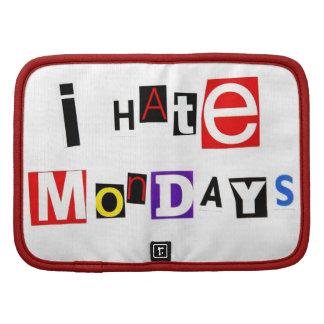 I Hate Mondays Ransom Note Organizer