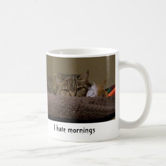 I hate Mornings Coffee Mug