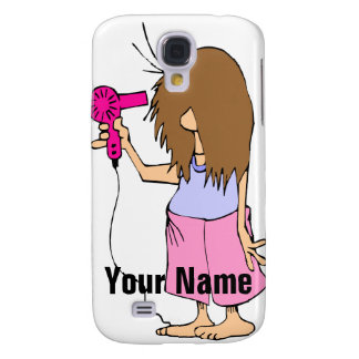 I Hate Mornings Woman Getting Ready Galaxy S4 Case