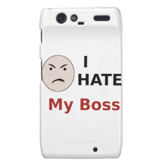 I Hate My Boss Droid RAZR Covers