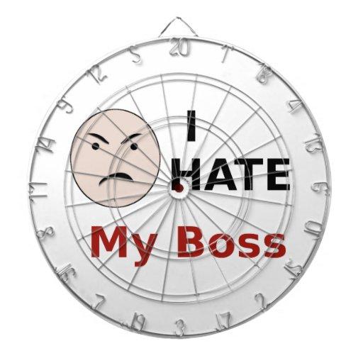 I Hate My Boss Dartboards