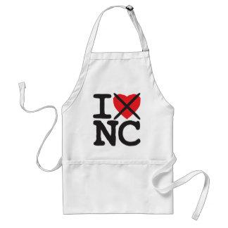 I Hate NC - North Carolina Adult Apron