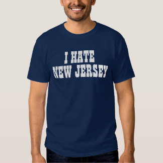I hate New Jersey t-shirt