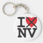 I Hate NV - Nevada Key Chain