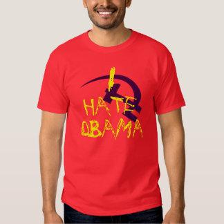 I HATE OBAMA HAMMER AND CYCLE TEE SHIRT