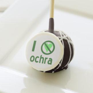 I Hate Ochra Cake Pops