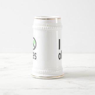 I Hate Olives (Black) Beer Stein