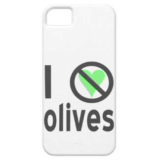 I Hate Olives (Black) iPhone SE/5/5s Case