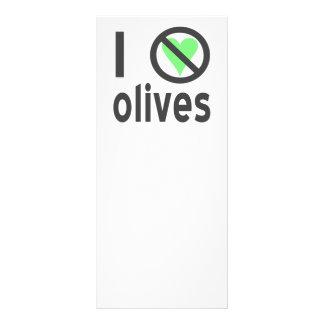 I Hate Olives (Black) Rack Card