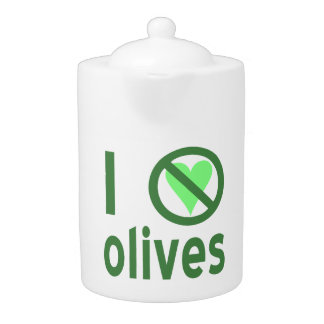 I Hate Olives (Green)