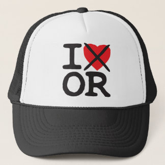 I Hate OR - Oregon Trucker Hat