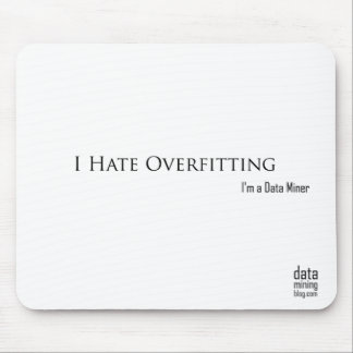 I Hate Overfitting Mouse Pad