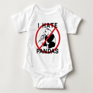 I Hate Pandas Tees
