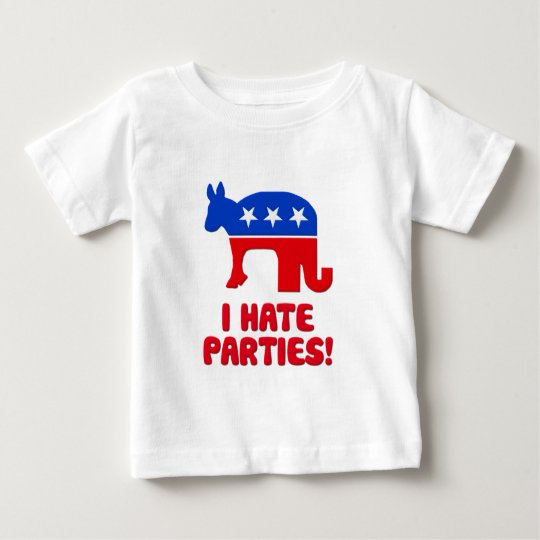 I Hate Parties! Baby T-Shirt