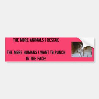 i HATE PEOPLE Bumper Sticker