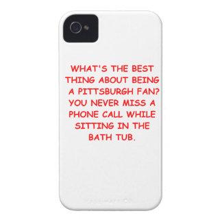 i hate pittsburgh iPhone 4 case