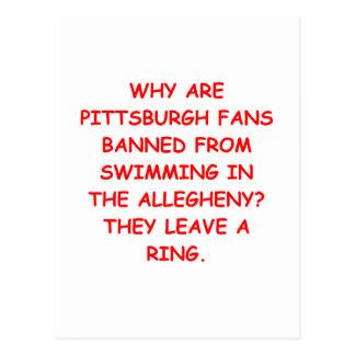 i hate pittsburgh postcard