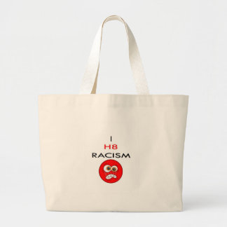 I Hate racism Tote Bag