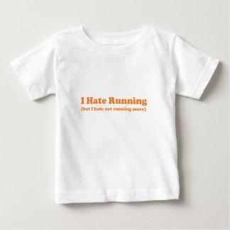 I hate running orange baby T-Shirt