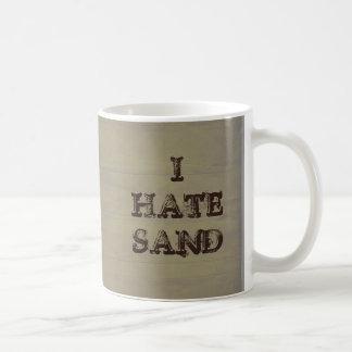 I HATE SAND Funny Military Coffee Mug
