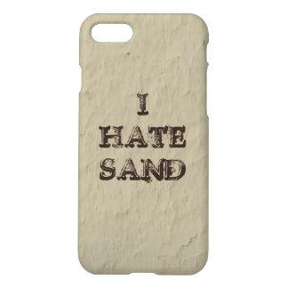 I HATE SAND Funny Military Desert Humor iPhone 8/7 Case