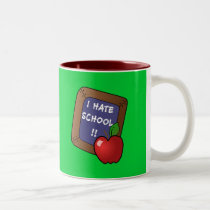 I Hate School Tshirt, iPad Case, Mug