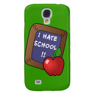 I Hate School Tshirt, iPad Case, Mug Samsung S4 Case